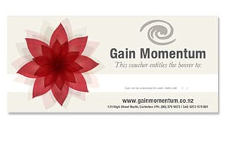 Gain Momentum gift voucher